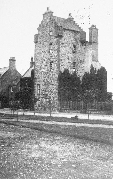 Dornoch Castle c 1890