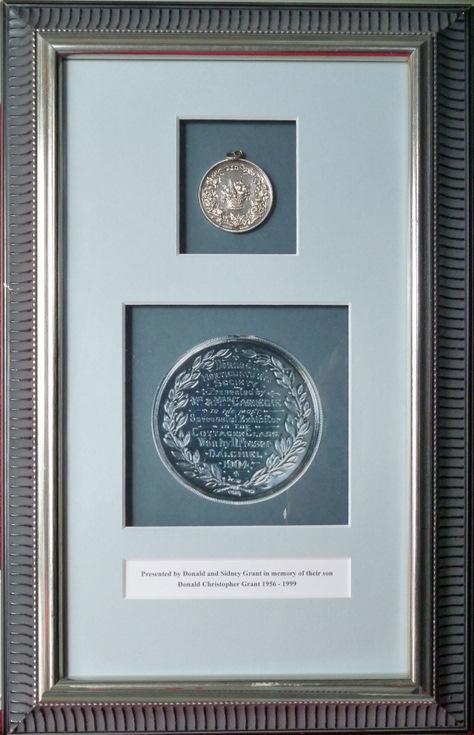 Dornoch Horticultural Society medal 1904