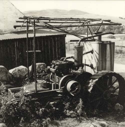 photograph of the Torboll Street Farm tractor