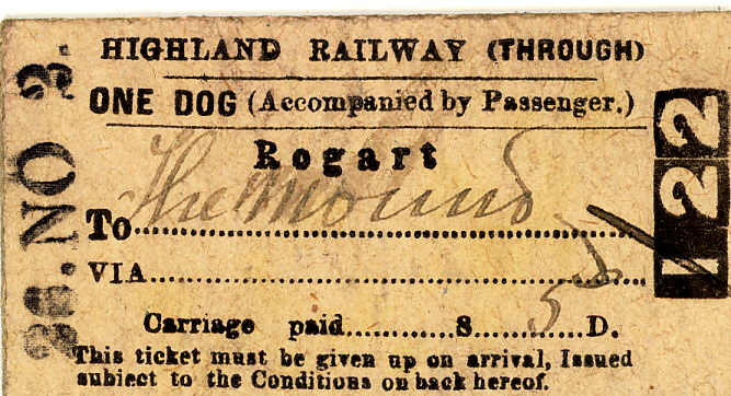 Dornoch Light Railway tickets