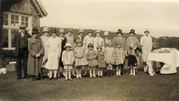 Skibo Shield Prize Giving c 1925