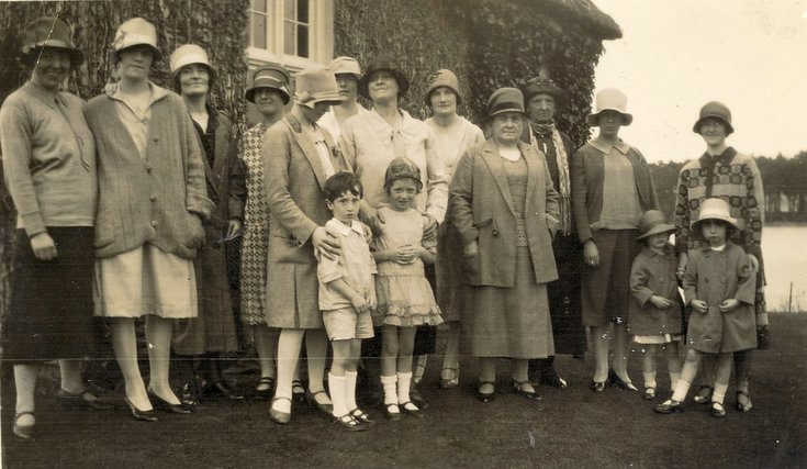 Skibo Shield Prize Giving c 1930