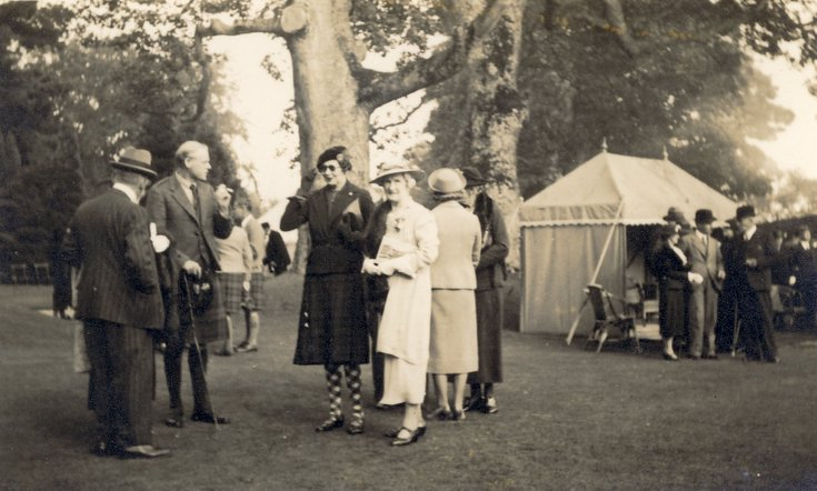 Skibo occasion 1938 possibly marriage of Louise Carnegie Miller
