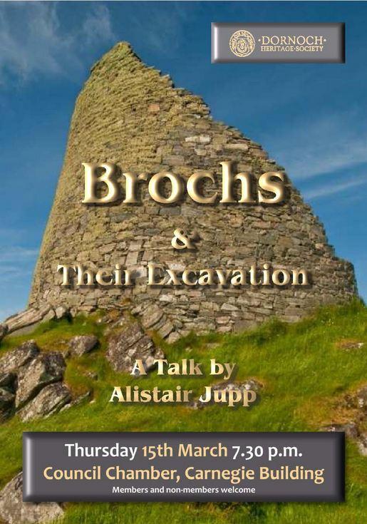 Talk by Alastair Jupp on Brochs