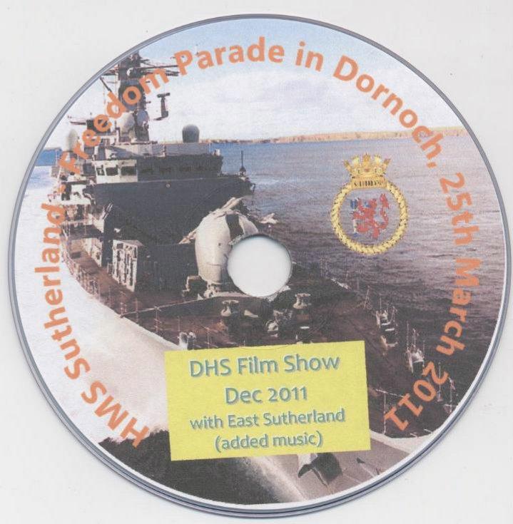 HMS Sutherland Freedom Parade in Dornoch 25 March 2011