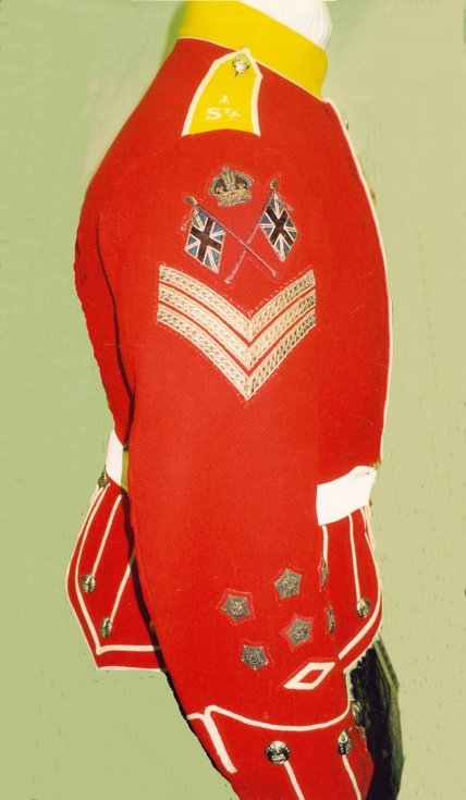Sutherland Highland Rifle Volunteers dress tunic