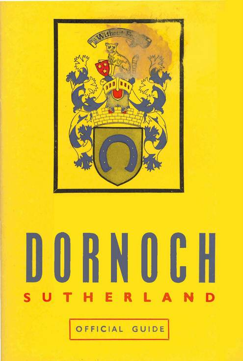 Official Guide to Dornoch c 1947