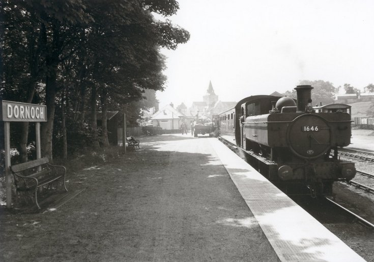 Dornoch Light Railway photographs - Dornoch Station