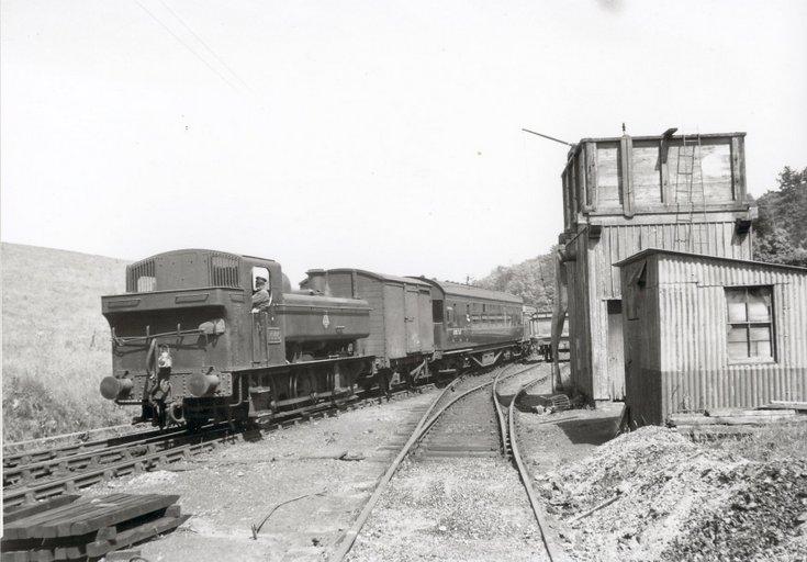 Dornoch Light Railway photographs - Dornoch water tower