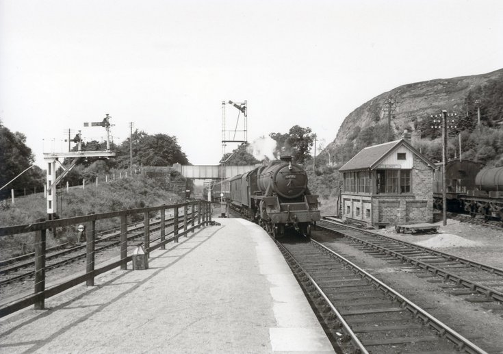 Dornoch Light Railway photographs - main line at the Mound