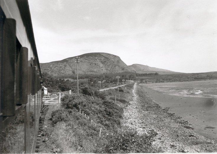 Dornoch Light Railway photographs - Crossing the Mound