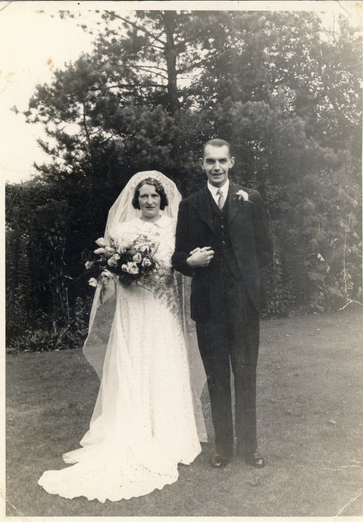 Wedding of Margaret Button of Embo to
