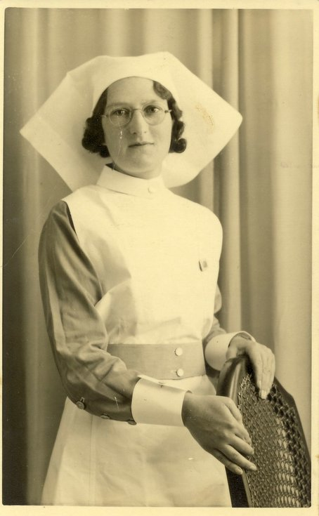 Margaret Button nurse Royal Inverness Infirmary 1937