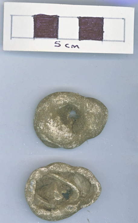 Objects discovered on Pitgrudy Farm - Lead weight