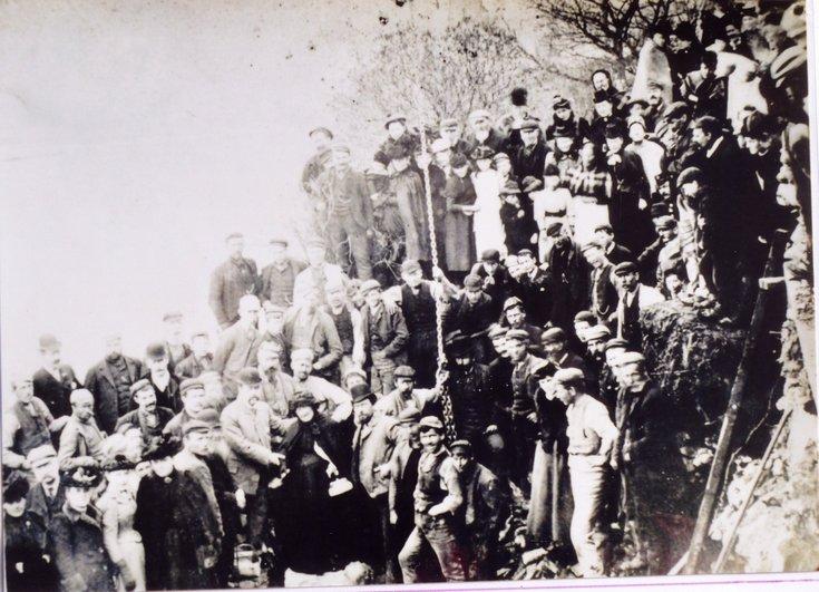 The opening ceremony for second Bonar Bridge 1893
