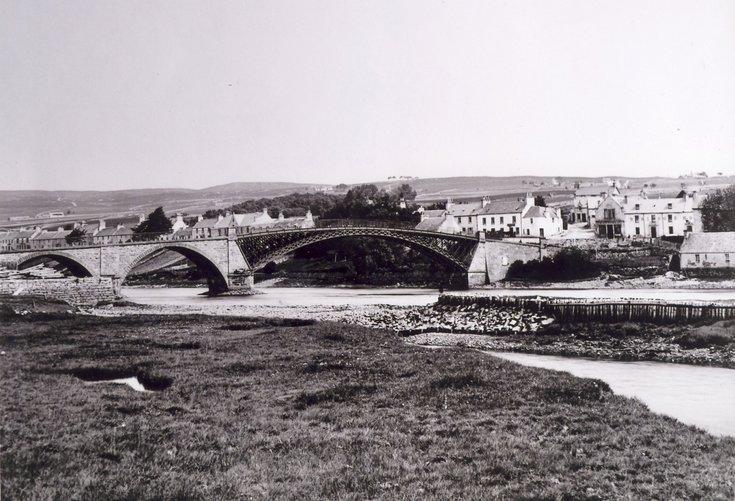The first Bonar Bridge 1812 - 1892