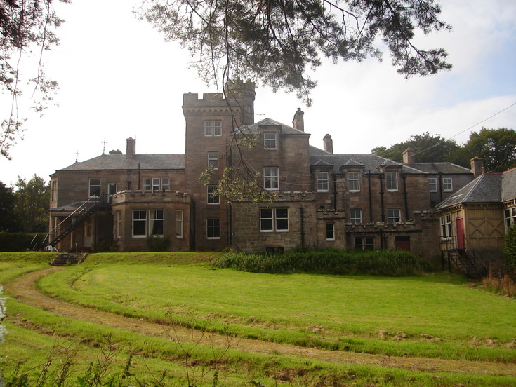 Burghfield House Hotel  north east coner of building 2008
