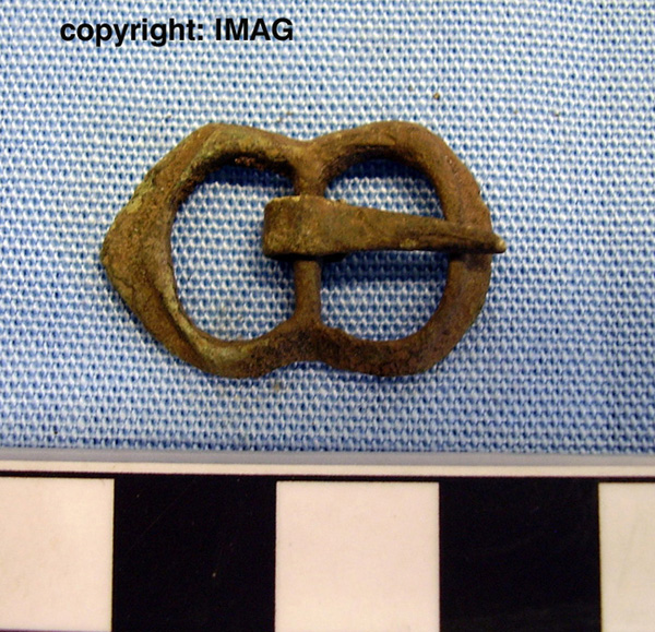 Treasure Trove objects from Dornoch N of Burghfield -  Buckle