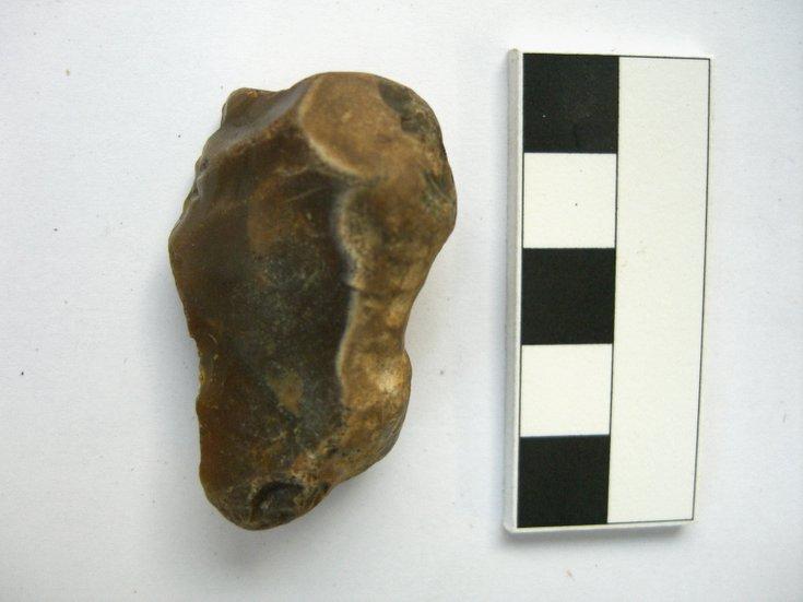 Bulbous flint fragment
