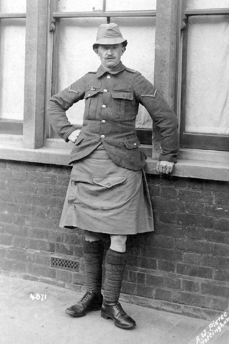 Lance Corporal Seaforth Highlanders