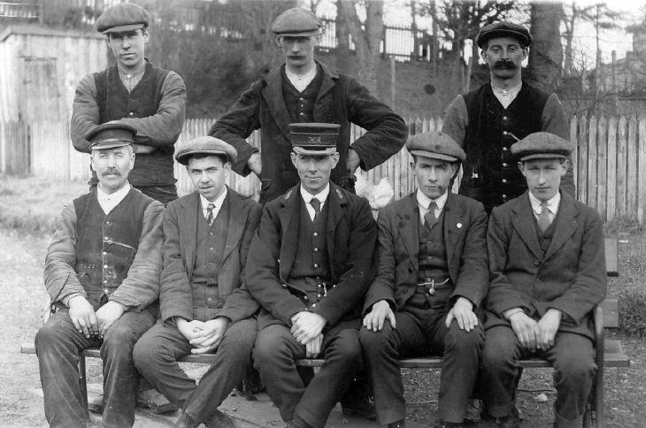 Eight railwaymen