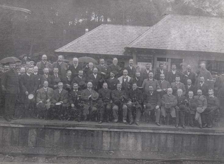 Opening of Dornoch Light Railway