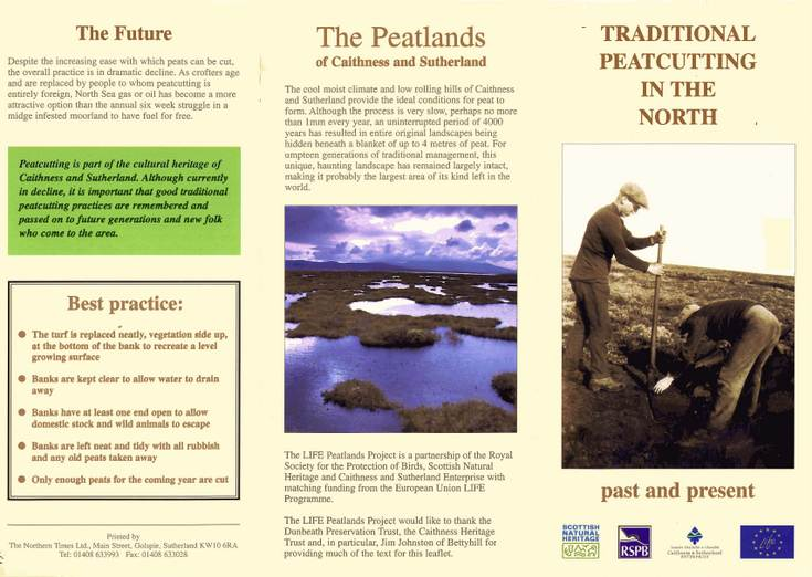Traditional Peatcutting in the North - past and present