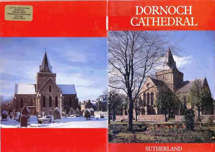 Booklet Dornoch Cathedral - Rev James A Simpson