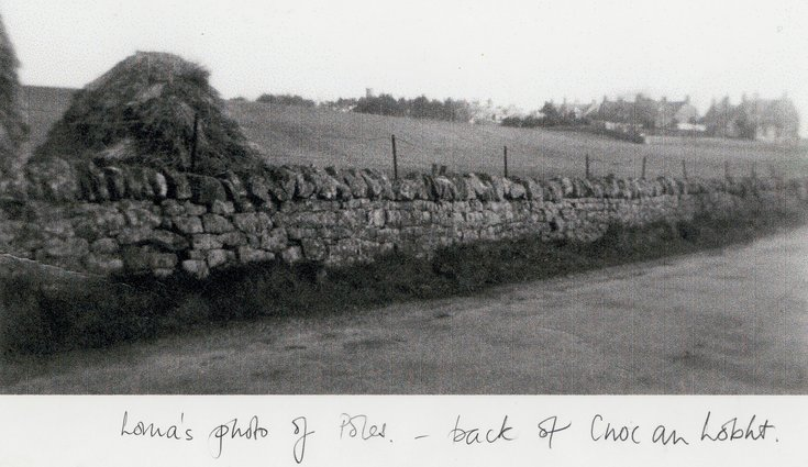 Copy of monchrome photograph of Cnoc an Lobht