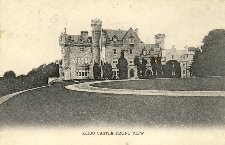 Skibo Castle front view