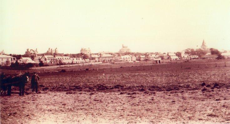 View of Dornoch skyline from SW