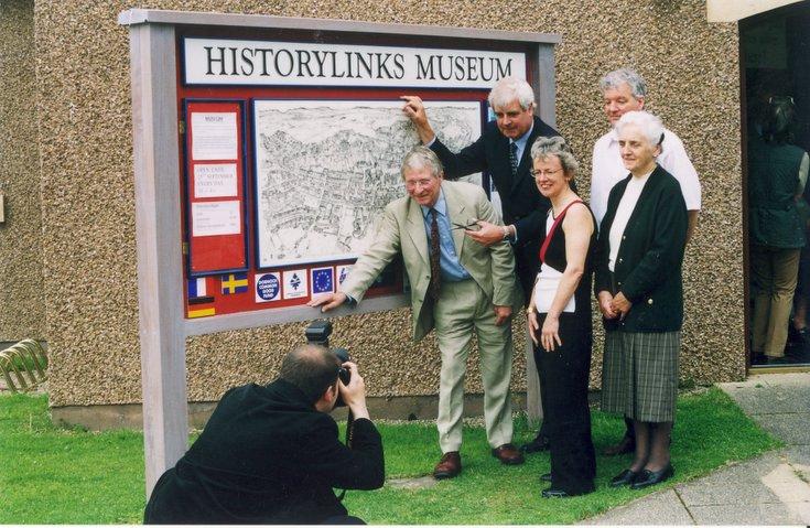 Historylinks Museum Display Panel