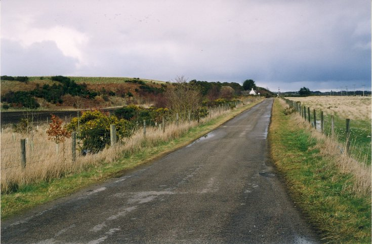 The Dornoch Esker from the Camore Road