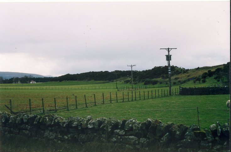 Dornoch Esker from the Evelix Road