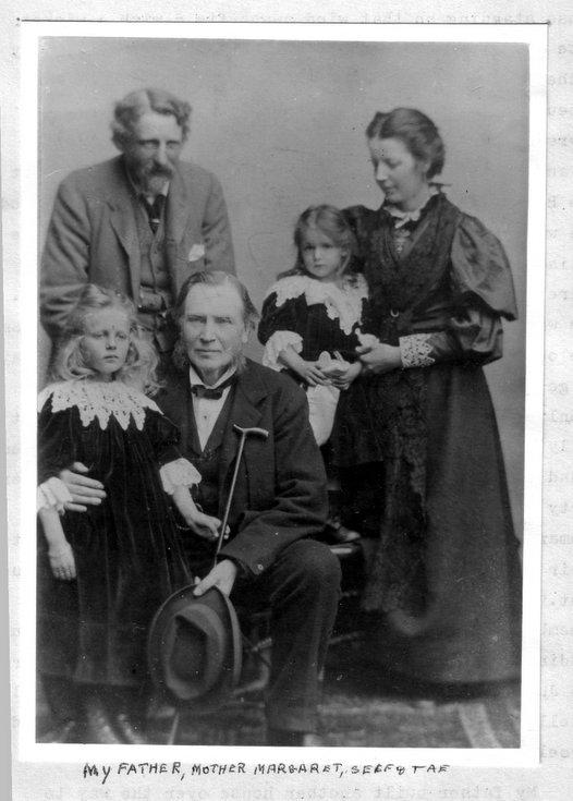 Hamilton Bruce family photograph