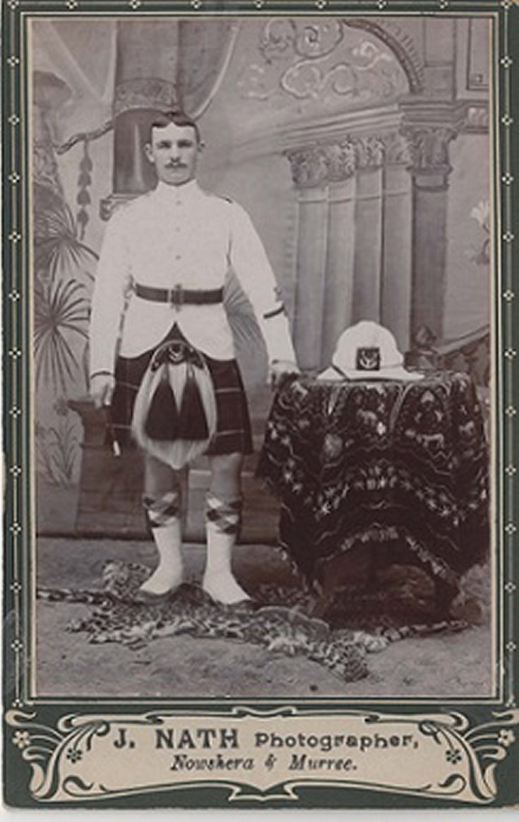 Unknown soldier in Seaforth Highlanders