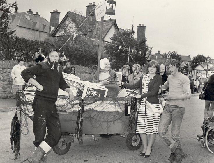 Dornoch Festival Week activities c 1979 - Pram Race