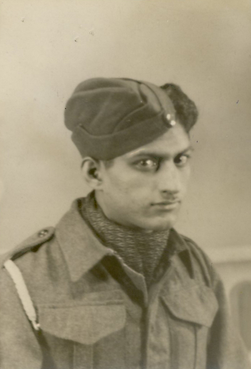 Indian soldier based in Dornoch WW2