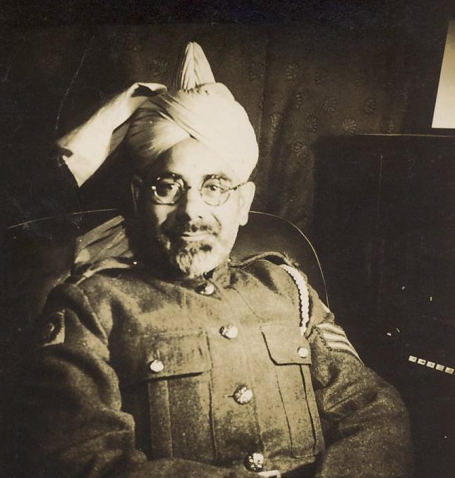 Indian Army Sergeant  based in Dornoch WW2
