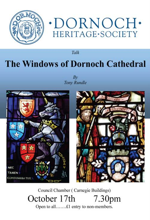 Audio of talk by Tony Rundle to Dornoch Heritage Society 17 Oct 13