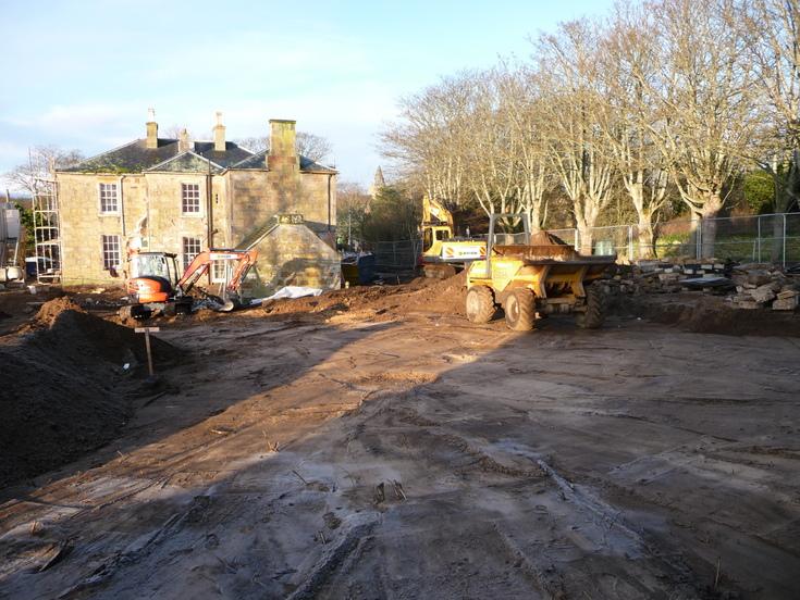 Development of 'Links House' Dornoch   Jan 2012 - July 2013