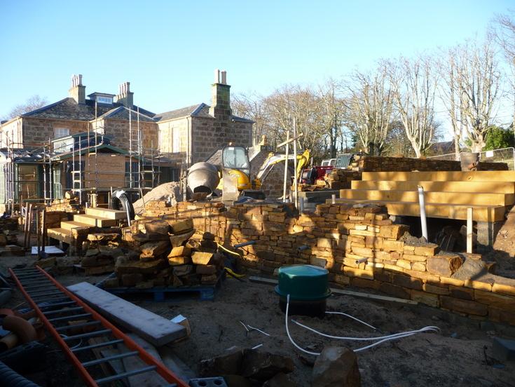 Development of 'Links House' Dornoch 26 Dec 12
