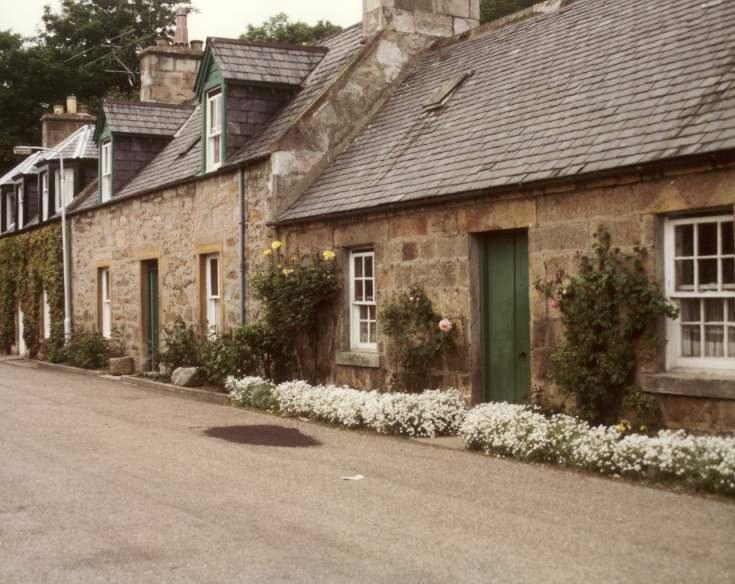 St Gilbert street, looking west