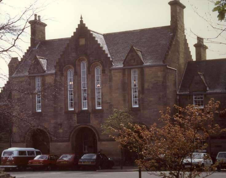Sheriff Court building, Castle Street