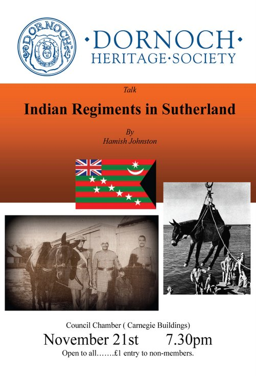 Indian Regiments in Sutherland