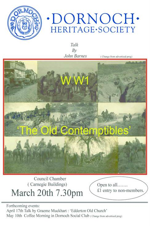 WW1 'The Old Contemptibles'