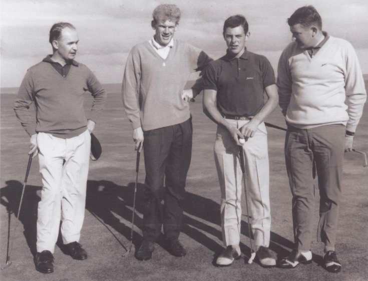 Opening of Golspie clubhouse 1967