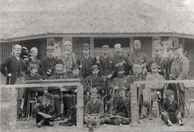 Group photograph of  Royal Dornoch club members