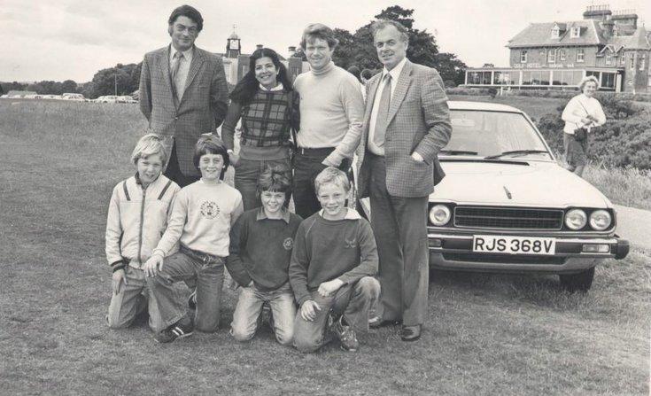 Group photograph  Tom Watson's visit to RDGC