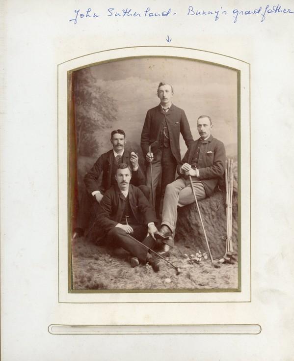 John Sutherland family album